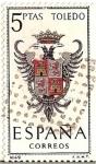 Sellos de Europa - España -  Correos España / Toledo / 5 pecetas