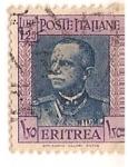 Sellos del Mundo : Africa : Eritrea : poste italiene / colonias italianas / Eritrea / 1,25 lire