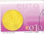 Sellos de Europa - Portugal -  moneda € 0,10