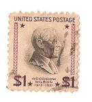 Sellos del Mundo : America : Estados_Unidos : united states postage / Woodrow Wilson