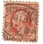 Sellos del Mundo : America : Estados_Unidos : United states postage / 6 cents