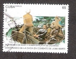 Sellos de America - Cuba -  Centenario de la Caída en Combate de José Martí
