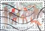 Sellos de Europa - Finlandia -  Intercambio crxf 0,25 usd 90 p. 1982