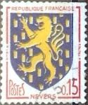 Sellos del Mundo : Europa : Francia : Intercambio 0,20  usd 15 cent. 1962