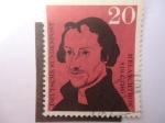 Sellos de Europa - Alemania -  Teológo Philipp Melanchthon (Philipp Schwartzerdt) 1497-1560