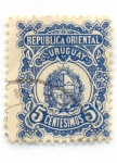 Sellos del Mundo : America : Uruguay : Escudo Nacional