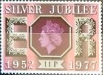 Sellos de Europa - Reino Unido -  Intercambio 0,45 usd 11 p. 1977