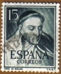 Sellos del Mundo : Europa : España : LITERATOS - Tirso de Molina