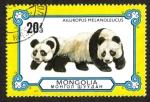Sellos del Mundo : Asia : Mongolia : Panda Gigante