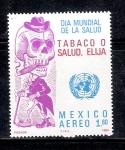 Sellos de America - México -  Elija: Tabaco o Salud