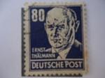 Sellos de Europa - Alemania -  Comunista, Ernst Thalmann 18667´1944.
