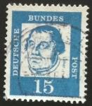 Sellos del Mundo : Europa : Alemania : Lutero