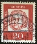 Sellos del Mundo : Europa : Alemania : Bach