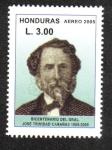 Sellos de America - Honduras -  Bicentenario del General Cabañas