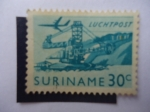 Sellos del Mundo : America : Surinam : Suriname - Luchtpost.