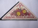 Sellos del Mundo : Africa : Camerún : Ipomoea Sp - Timbre Taxe - Republique Federale Du Cameroun.