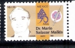 Sellos del Mundo : America : México : Dr. Mario Salazar Mallén