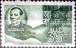 Sellos del Mundo : America : México : Intercambio 0,30 usd 35 cent. 1950