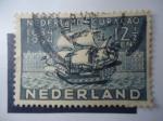 Sellos de Europa - Holanda -  Netherlands herdenking-Curaçao 1634-1934