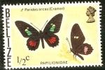 Sellos del Mundo : America : Belice : Mariposas.