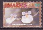 Sellos de America - Jamaica -  serie- Orquídeas