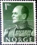 Sellos del Mundo : Europa : Noruega : Intercambio 0,20 usd 1 krone 1959
