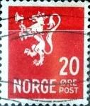 Sellos del Mundo : Europa : Noruega : Intercambio 0,20 usd 20  ore 1940
