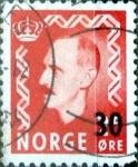 Sellos del Mundo : Europa : Noruega : Intercambio 0,30 usd 30 sobre 25 ore 1951