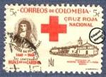 Sellos de America - Colombia -  Cruz Roja Colombia 1960 - Beneficencia