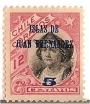 Sellos de America - Chile -  Colon / ISLAS DE JUAN FERNANDEZ