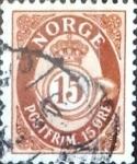 Sellos del Mundo : Europa : Noruega : Intercambio 0,20 usd 15 o. 1952