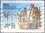 Sellos del Mundo : Africa : Sudáfrica :  Intercambio pxg 0,60 usd 60 p. 1995