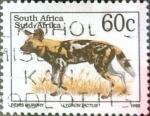 Sellos del Mundo : Africa : Sudáfrica :  Intercambio pxg 0,20 usd 60 cent. 1993
