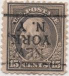 Sellos de America - Estados Unidos -  Y & T Nº 190