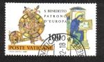 Sellos del Mundo : Europa : Vaticano : Nursia , San Benedictus v
