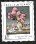 Sellos del Mundo : Europa : Checoslovaquia : C.Bouda: Oleandr 1944