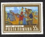 Sellos del Mundo : Europa : Rumania : Pinturas de Trabajo