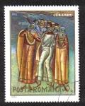 Sellos de Europa - Rumania -  Frescos de monasterios Rumanos