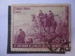 Sellos de America - Chile -  Paso de Los Andes - Primer Centenario de la Muerte del General San Martín