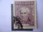 Sellos de America - Argentina -  Guillermo Brown - 1777-1857