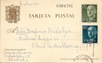 Sellos de Europa - España -  entero postal