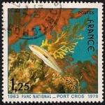 Sellos de Europa - Francia -  Parc National - Port Cros