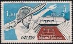 Sellos de Europa - Francia -  Roland Garros