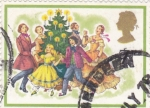 Sellos de Europa - Reino Unido -  fiesta navideña