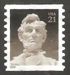 Sellos de America - Estados Unidos -  Abraham Lincoln