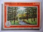 Sellos de America - Honduras -  Paisajes.