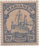 Sellos de Europa - Alemania -  Y & T Nº 10 Marianees Is