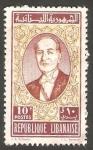 Sellos de Asia - Líbano -  182 - Presidente Chehab