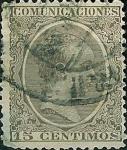 Sellos de Europa - España -  Alfonso XIII Tipo pelón