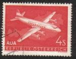 Sellos del Mundo : Europa : Austria : El primer vuelo